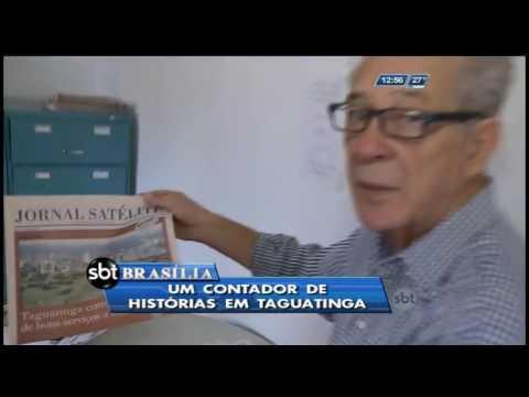Um contador de histórias em Taguatinga