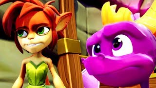 SPYRO 2: Ripto's Rage Remastered  All Cutscenes (Spyro Reignited Trilogy) Game Movie