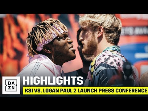 HIGHLIGHTS | KSI vs. Logan Paul 2 Launch Press Conference