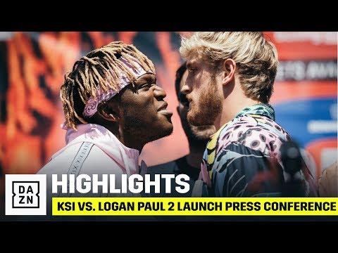 HIGHLIGHTS | KSI vs. Logan Paul 2 Launch Press Conference