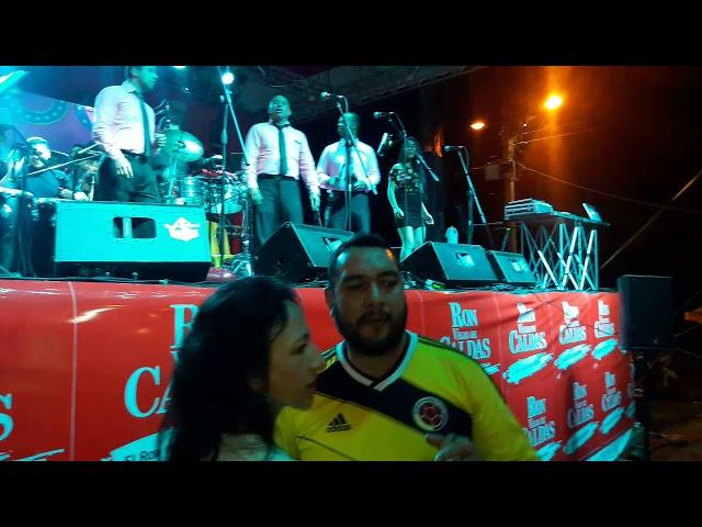 Orquesta REAL SOCIEDAD Pasto Mix tropical Consacá 20 julio 2018 Cam. Flor Montenegro Consacá