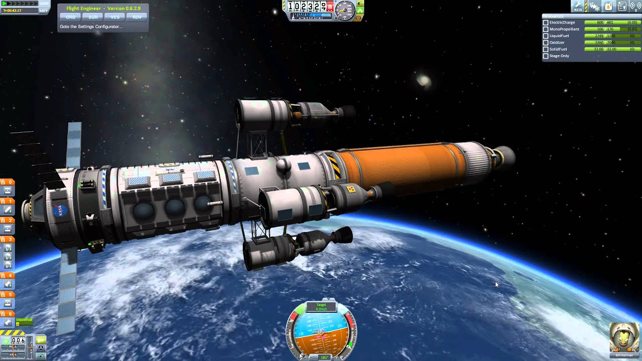 Kerbal Space Program 0.24 - Ep. 18 - Rendezvous and Duna ...