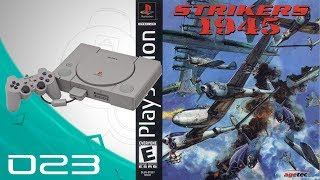 Strikers 1945 [023] PS1/PSX Longplay/Walkthrough/Playthrough (FULL GAME)
