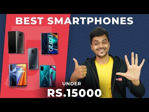 Top 5 Best Mobile Phones Under ₹15000 Budget 🔥🔥🔥  December 2020