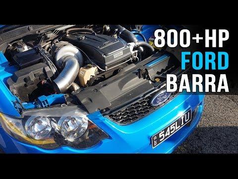 800+hp Barra XR6 turbo