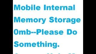 Internel storage(0MB) and remove decrypt password in twrp