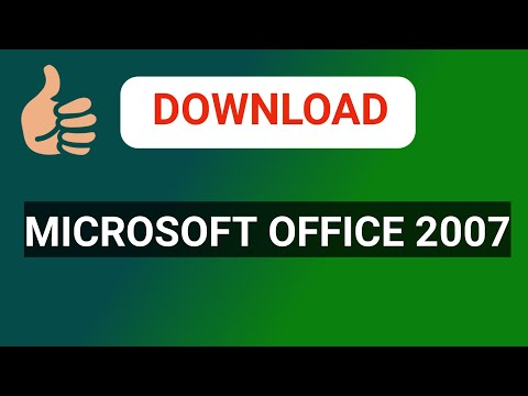 How To Download & Install MS Office 2007 100% Free Full Version [Gujarati]