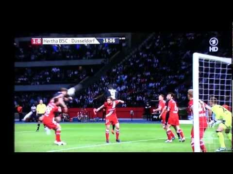10.05.2012 Hertha BSC - Fortuna Düsseldorf 1:0 durch Roman Hubnik Relegation Bundesliga 2012