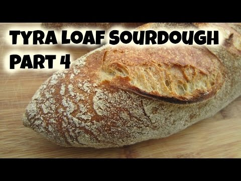 Tyra Loaf - How to Bake the Best Bread in the World Part 4 - Scoring and Baking - 동영상
