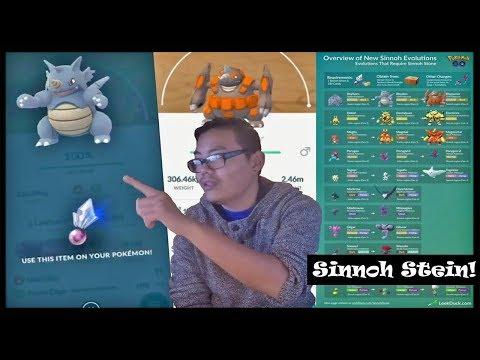 So bekommst du den SINNOH STEIN! Rihornior entwickelt! Pokemon Go! thumbnail