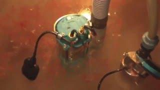 Работа канализационного насоса (sewage pump)(, 2016-03-14T10:43:00.000Z)