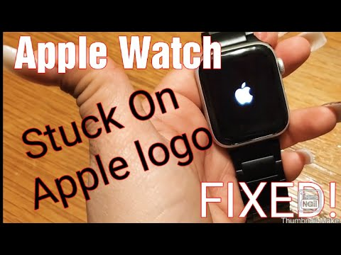 How To Fix ANY Apple Watch That Is Stuck On The Apple Logo.
