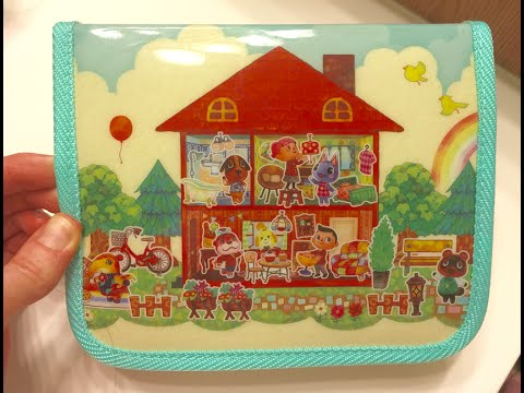 Happy home 3ds case amiibo card opening animal - Animal crossing happy home designer 3ds case ...