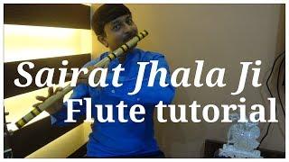 Sairat Jhala Ji Flute Tutorial   G synth Musica   Milind Dangre