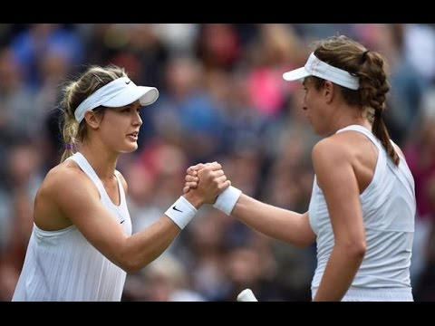 Eugenie Bouchard VS Johanna Konta Highlight 2016 R2