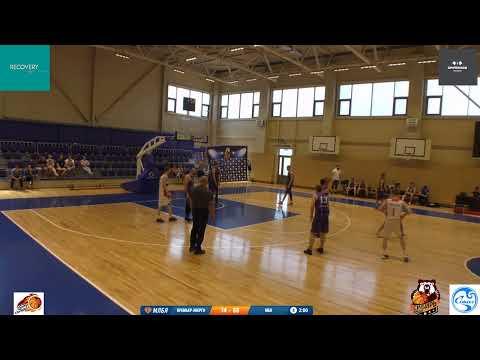 Вторая игра первого игрового дня между командами ПРЕМЬЕР - ЭНЕРГО (ИРКУТСК) - МБК (НОВОСИБИРСК)
