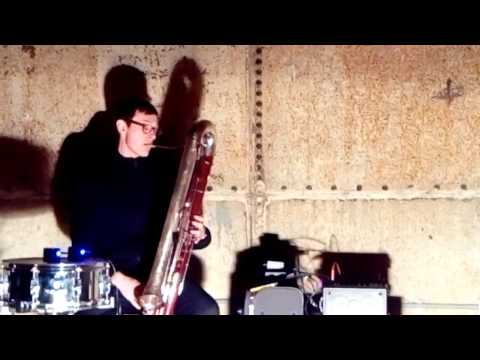 Thomas Stone performing at Silver Road 10/2/17 - contrabassoon & electronics
