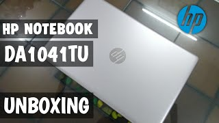 HP NOTEBOOK - DA1041TU Laptop Unboxing and Hands-On | Hp laptop | HP DA1041TU  Specification Review