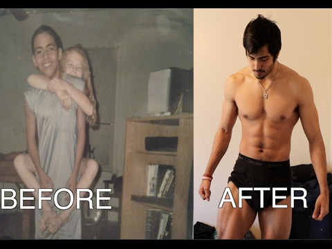 My Insane Transformation From 85 Pounds to 200 Pounds!