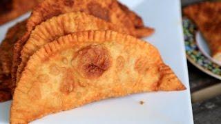 Beef Empanada - Chebureki Recipe - Heghineh Cooking Show