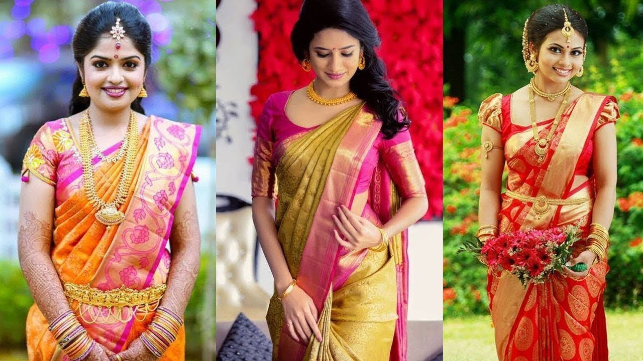 6ffd3a92b6 Latest Ultimate Collection of Color Combinations Pattu Sarees - YouTube