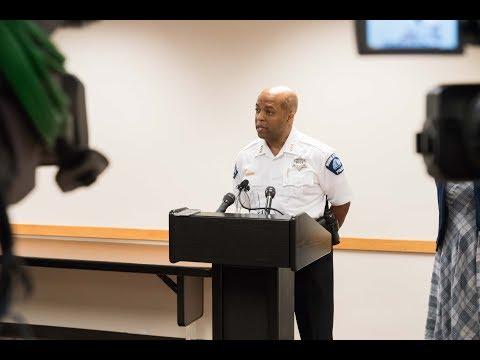 Chief Arradondo After Confirmation Hearing