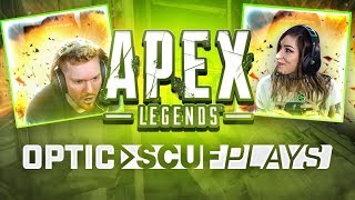 GAMING DRAMA LOVE TRIANGLE PLAYS APEX |. OpTic Scuf Plays Apex Legends