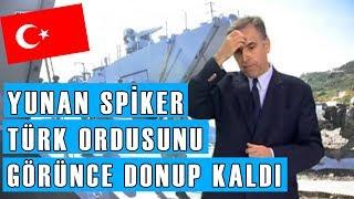 YUNAN SPİKER TÜRKLERİ İZLERKEN KORKTU!