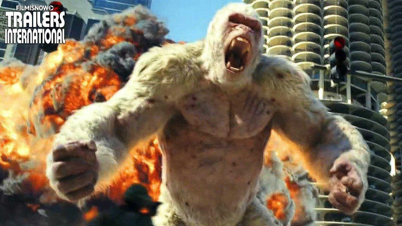 Rampage destrui o total trailer oficial 1 youtube for La roca film