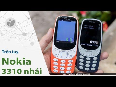 Trên Tay Nokia 3310 Nhái Giá 600.000 đồng, Có đèn Pin | Tinhte.vn