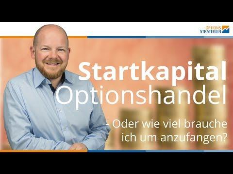 Startkapital für den Optionshandel - Oder wie viel brauch ich um anzufangen?