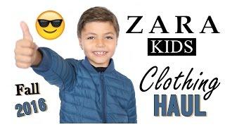 Kids Clothing Haul 2016 | Plus Try-On | Zara Kids | Beauty and Life