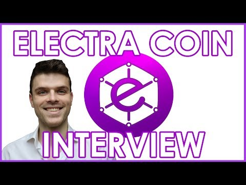 INTERVIEW Electra Coin  | Cryptocurrencies 2018