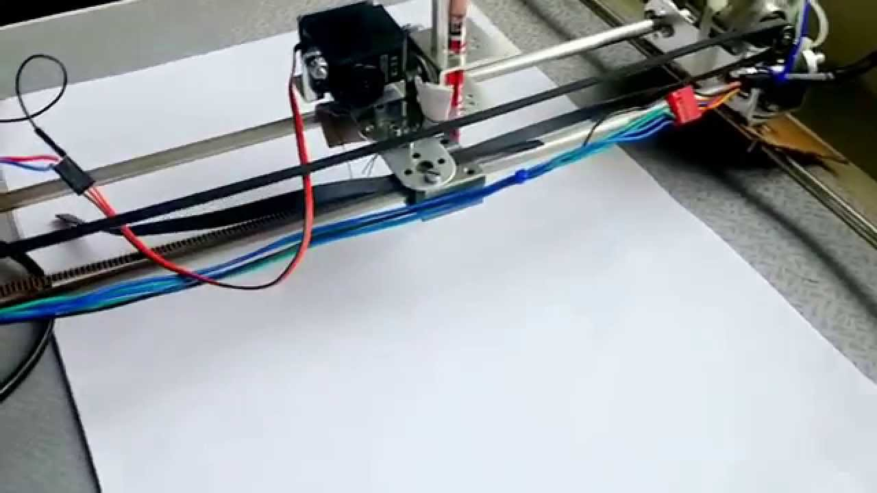 how to build a pen plotter