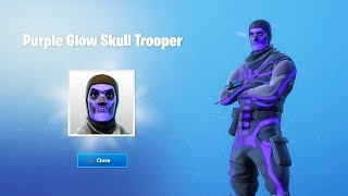 How to Unlock the Purple Glow Skull Trooper in Fortnite...