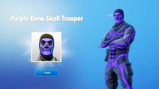 Comment débloquer le Purple Glow Skull Trooper à Fortnite...