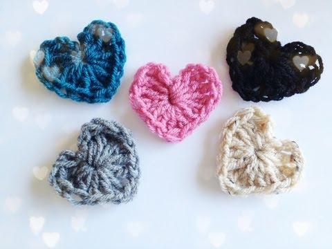 How to: Crochet a Heart