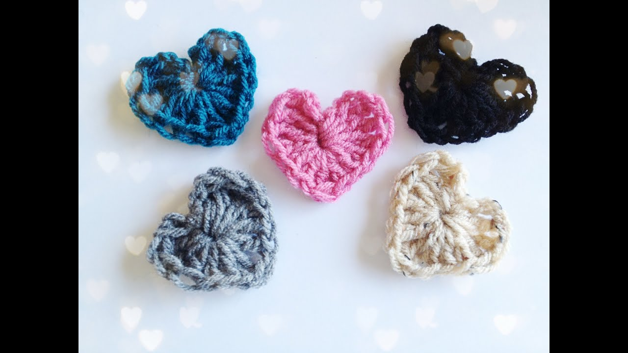 How to crochet a heart youtube bankloansurffo Images