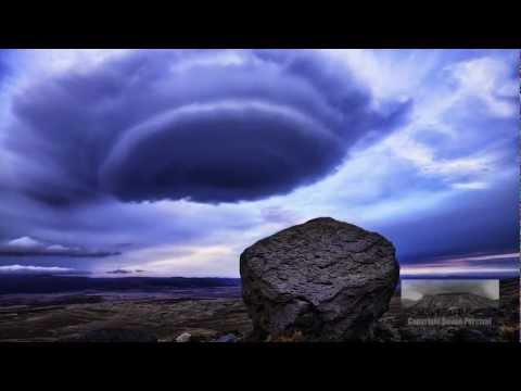 Timelapse Video - UFO Shaped Lenticular Clouds