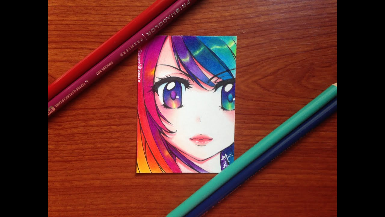 colored pencil drawing: polychromatic - youtube