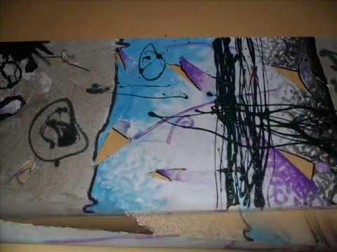 Pittura moderna renzo perrone youtube for Pittura moderna soggiorno