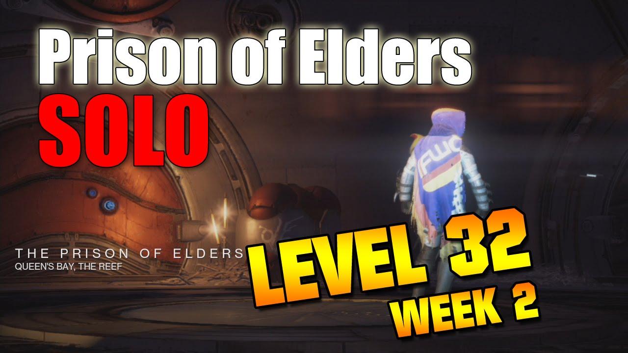 Destiny prison of elders level 32 matchmaking
