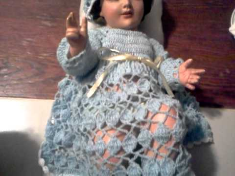 Vestido Nino Dios