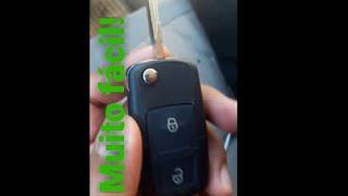 Trocando chave codificada para chave canivete
