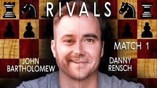 Chess Rivals #1: Best of 12 vs. IM Daniel Rensch  [Bullet]