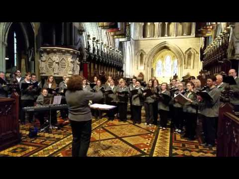 Shotime Productions Choir - St Patricks Cathedral, Dublin, Ireland