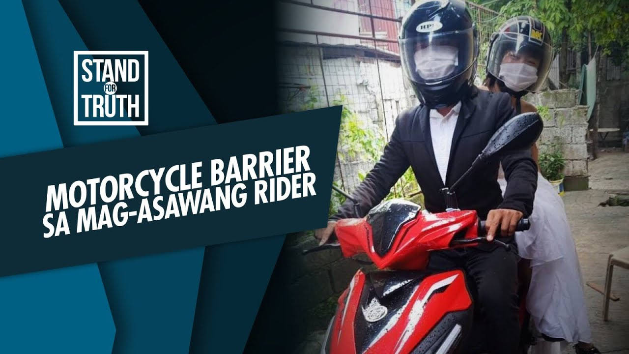 Stand for Truth: Motorcycle barrier, safe nga ba?