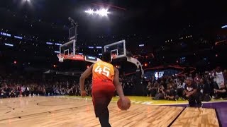 Donovan Mitchell - 2018 NBA Slam Dunk Contest (Champion) Video