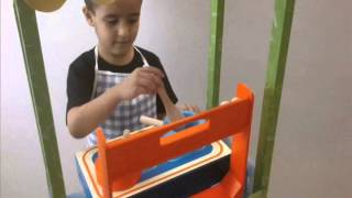 Pretend Play Toys - Kitchen Range Toy - Vividha