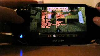 Quake running on PS Vita 2.12